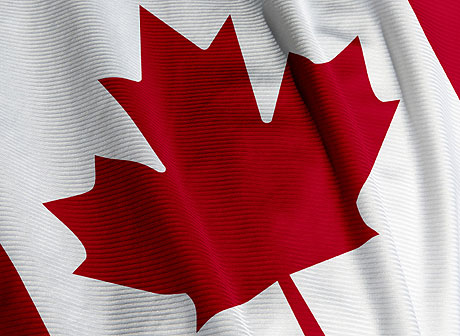 Canadian Flag- Visitors to Canada